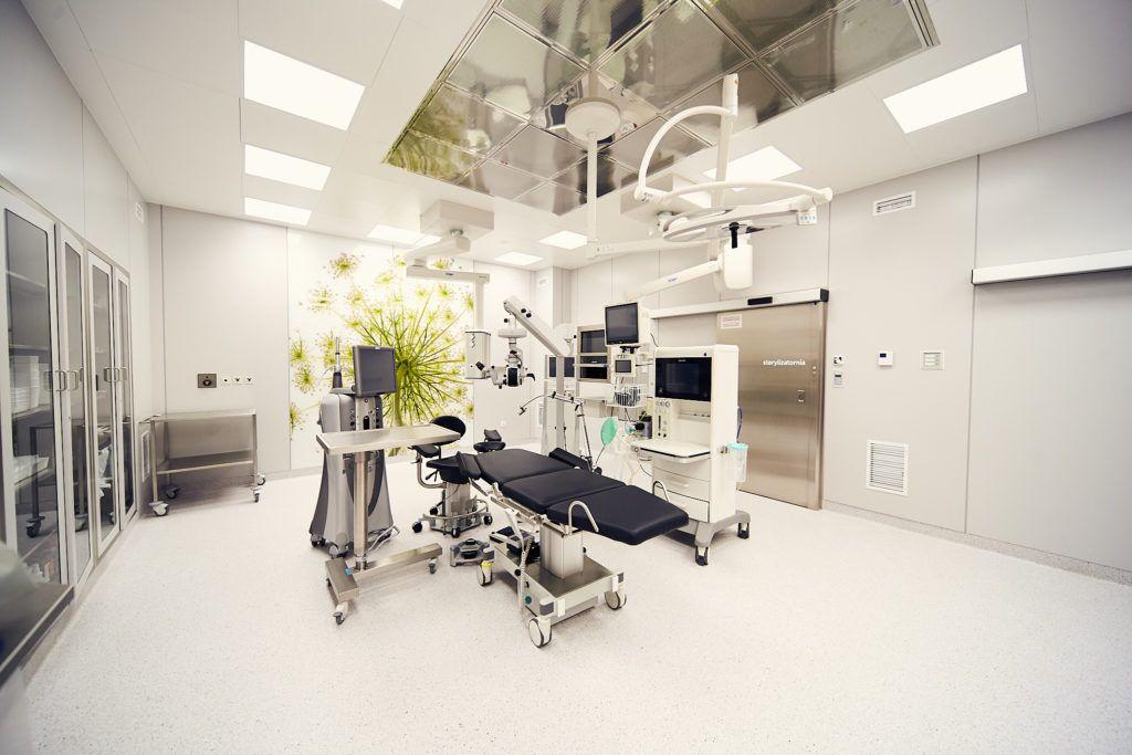 Chirurgia okulistyczna - sala operacyjna