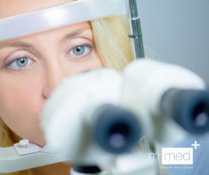 badanie maszyną do badania wzroku