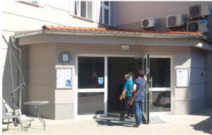 zdjęcie przedstawiające wejście od podwórza