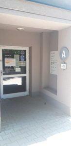 zdjęcie przedstawiające wejście do windy